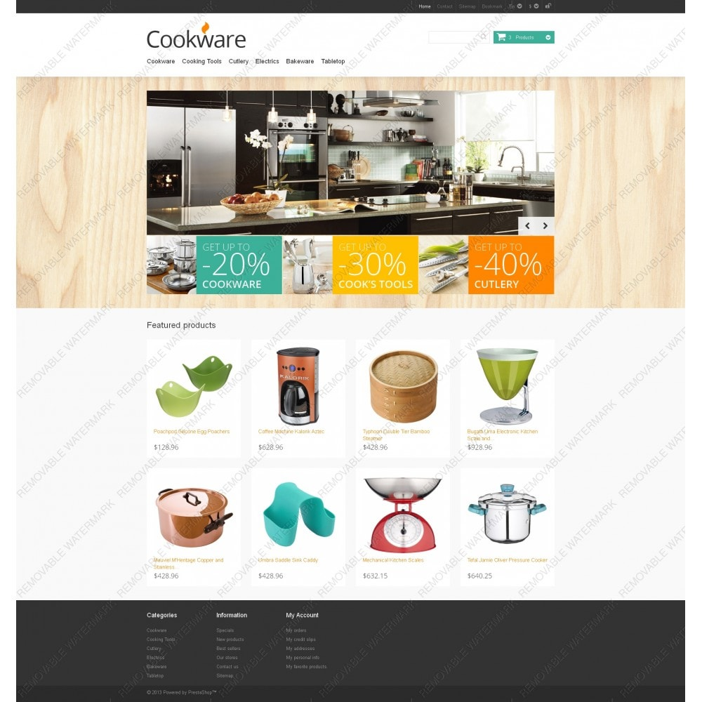 theme - Art & Culture - Responsive Cookware Store - 5