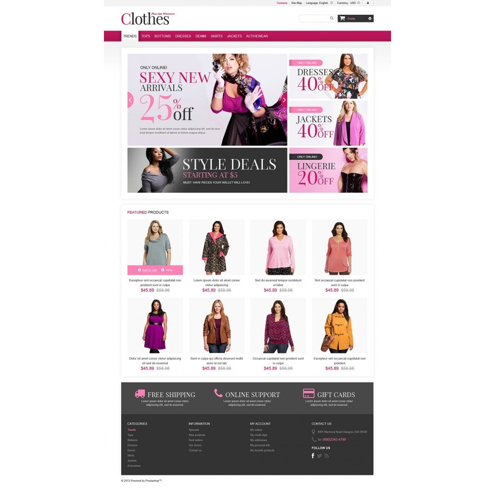 theme - Moda & Calzature - Plus Size Clothes Store - 2
