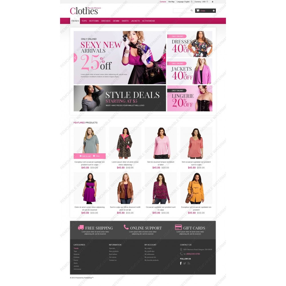 theme - Moda & Calzature - Plus Size Clothes Store - 5