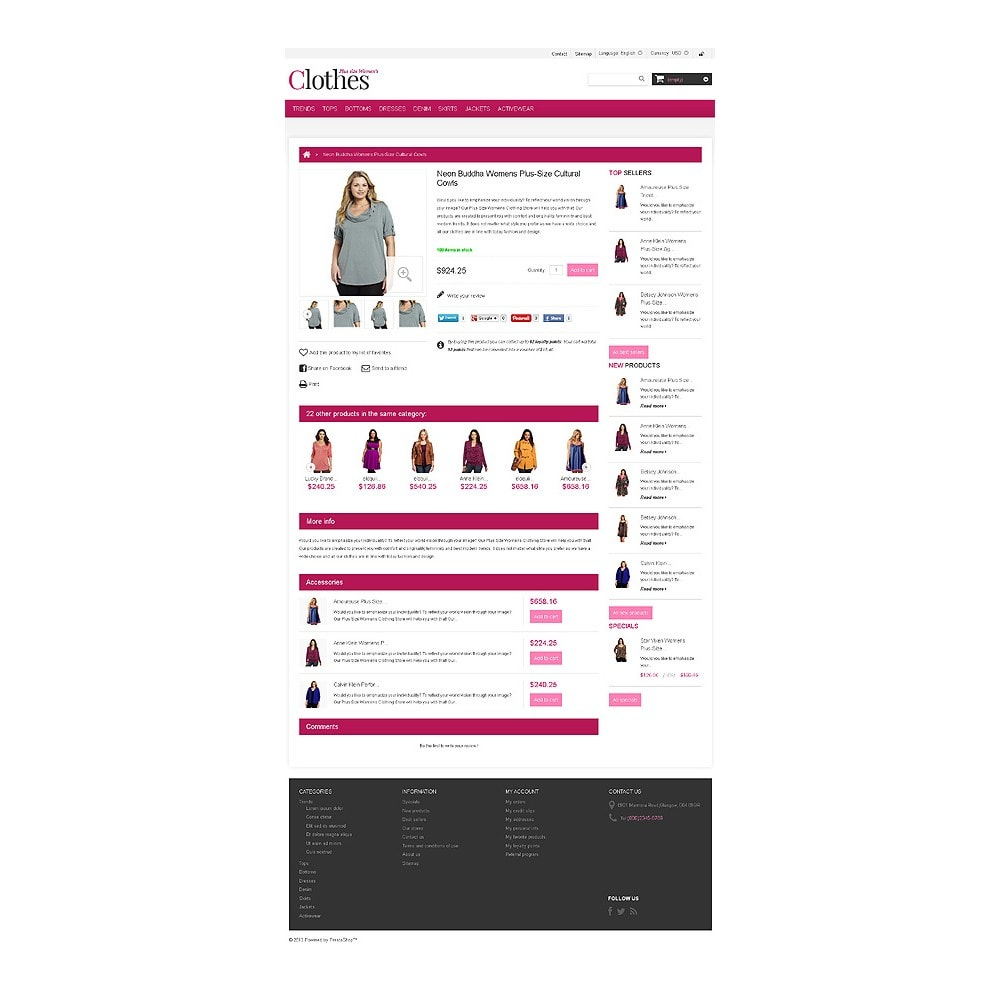 theme - Moda & Obuwie - Plus Size Clothes Store - 6