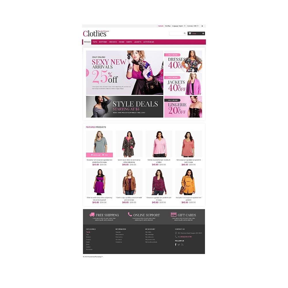 theme - Moda & Obuwie - Plus Size Clothes Store - 10
