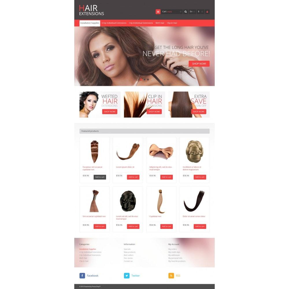 theme - Moda & Obuwie - Luxury Hair - 4