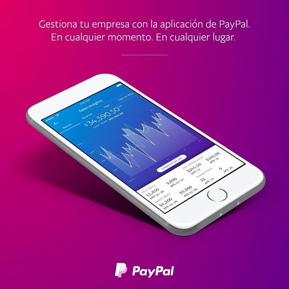 module - Pago con Tarjeta o Carteras digitales - Oficial de PayPal - 3