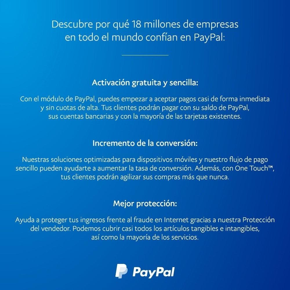 module - Pago con Tarjeta o Carteras digitales - Oficial de PayPal - 4