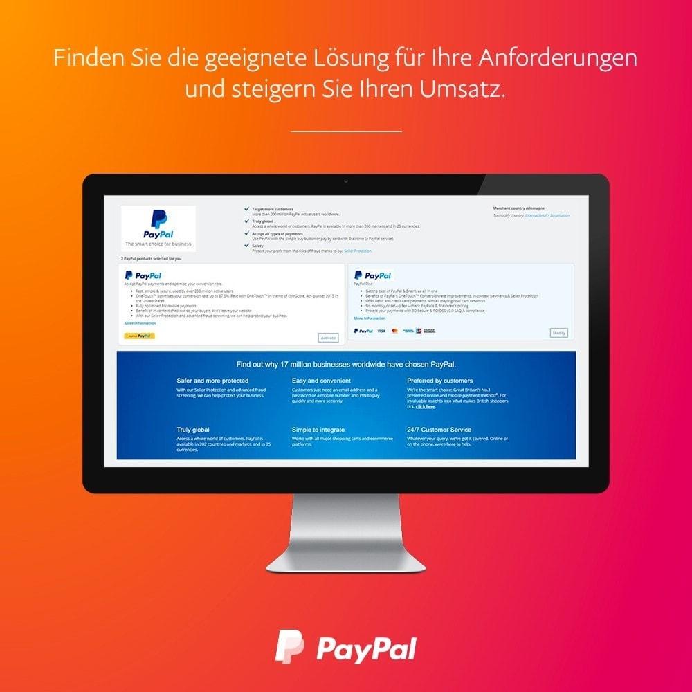module - Zahlung per Kreditkarte oder Wallet - Offizielles  von PayPal - 2