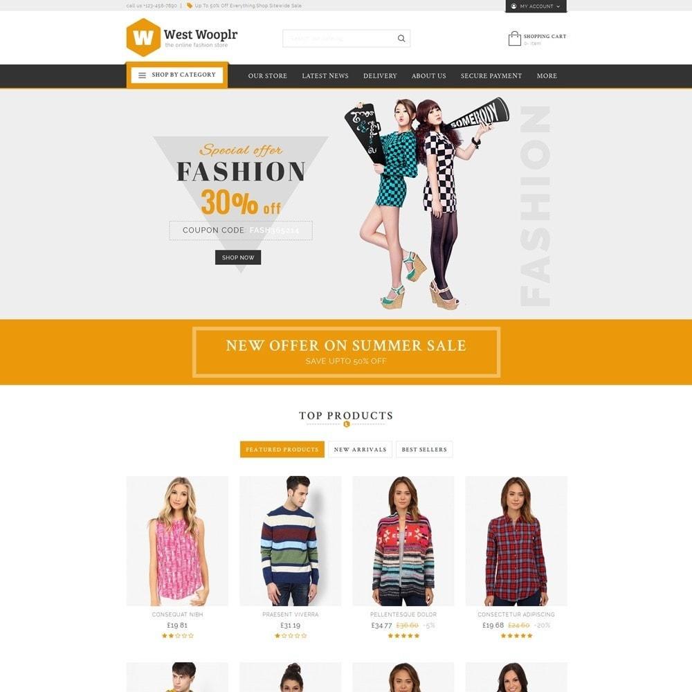 theme - Moda & Calzature - West Wooplr - Fashion Market - 2