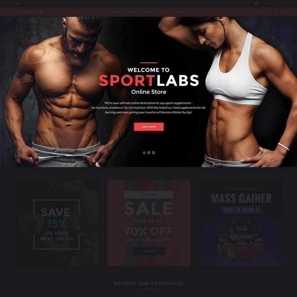 theme - Sport, Rozrywka & Podróże - SportLabs - Sports Nutrition - 3