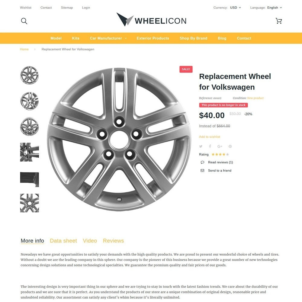 theme - Automotive & Cars - Wheelicon - 3