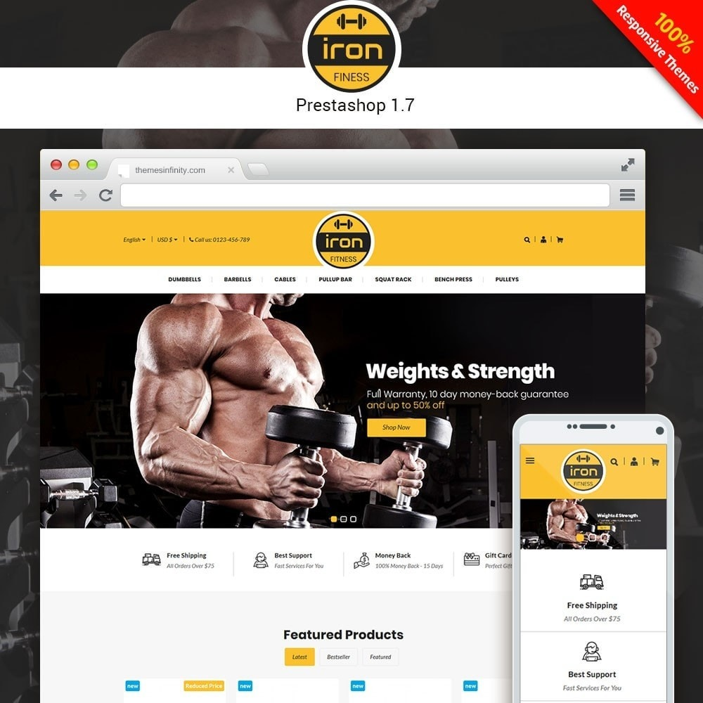 Iron - Fitness Online Store