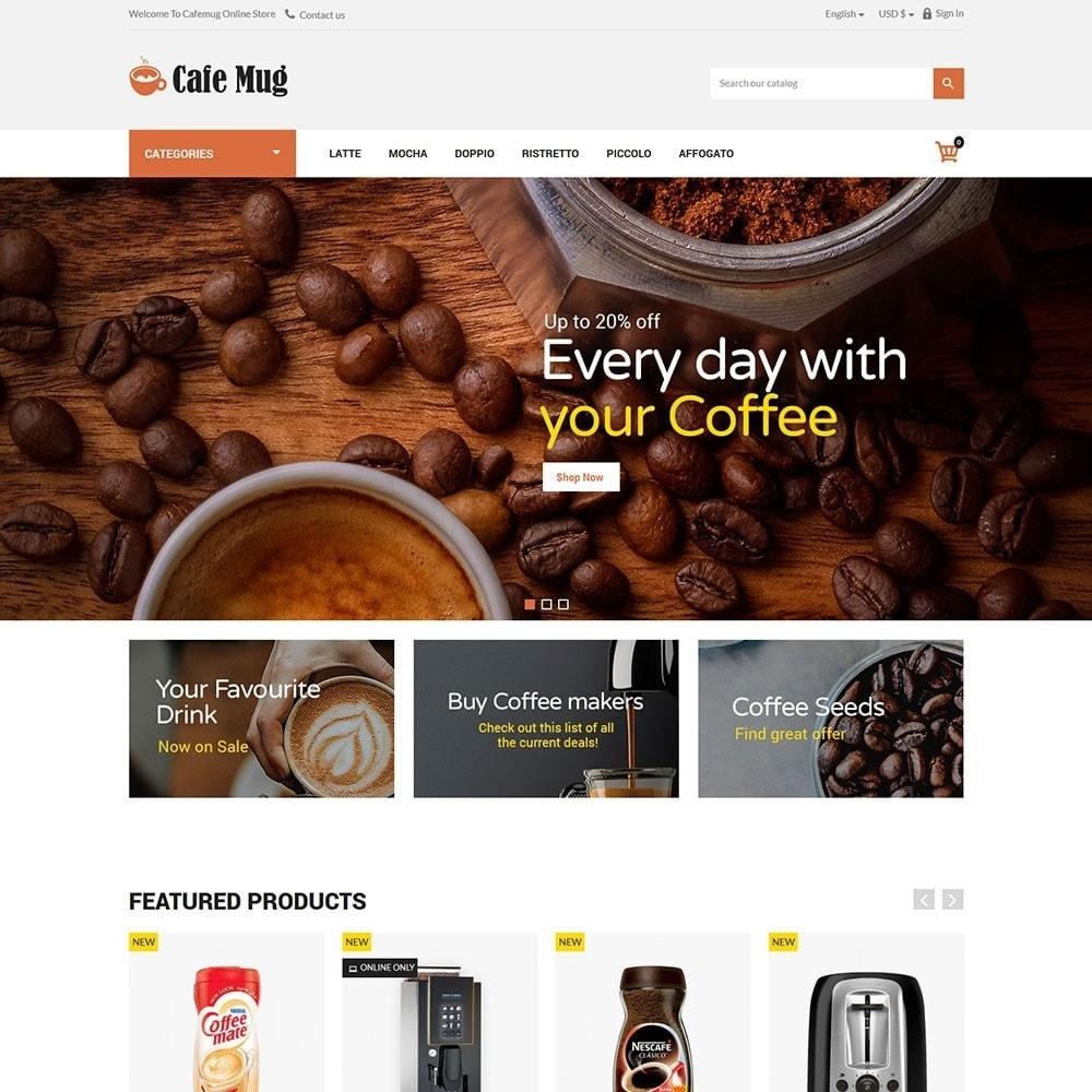 theme - Żywność & Restauracje - Cafemug - Coffee Online Store - 2