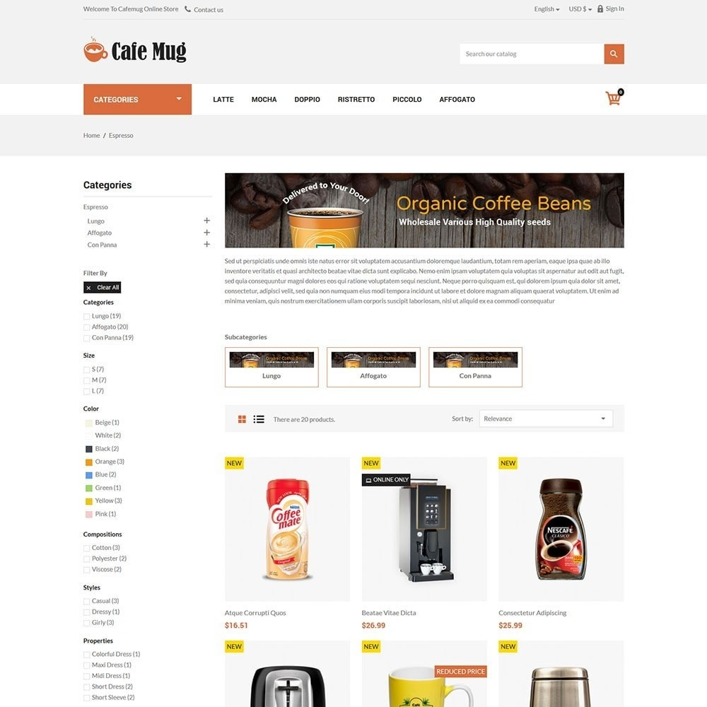 Cafemug - Coffee Online Store