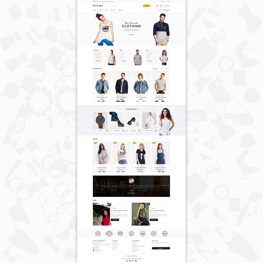 theme - Moda y Calzado - The Nepto - The Fashion Store - 2