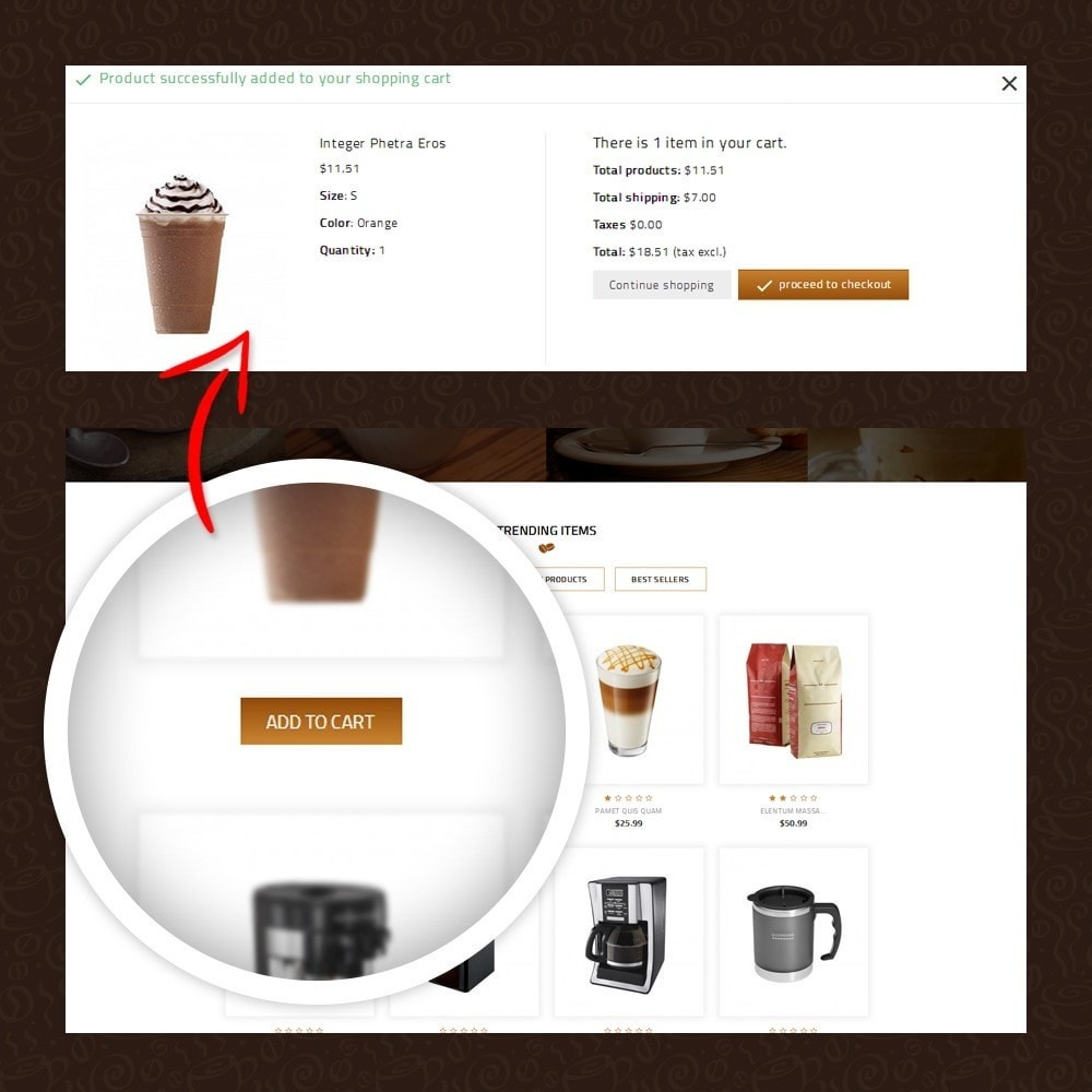theme - Gastronomía y Restauración - Coffeea - Coffee shop - 5