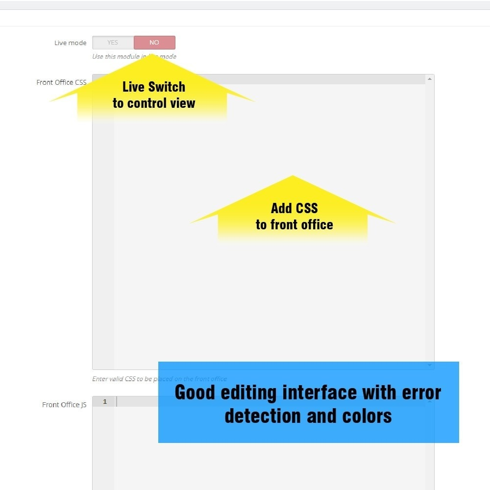module - Personnalisation de Page - Yucca Custom CSS/JS - 4