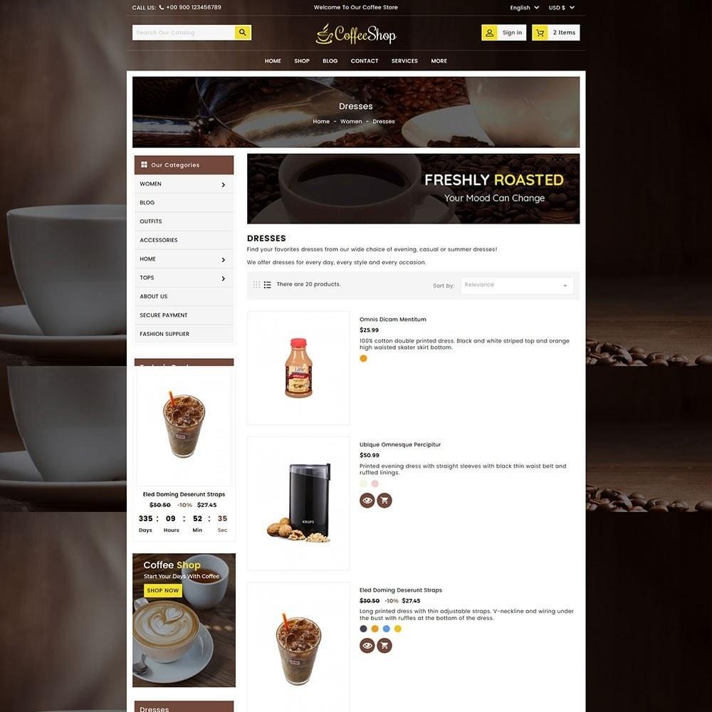 theme - Bebidas & Tabaco - Coffee and Drinks Store - 5
