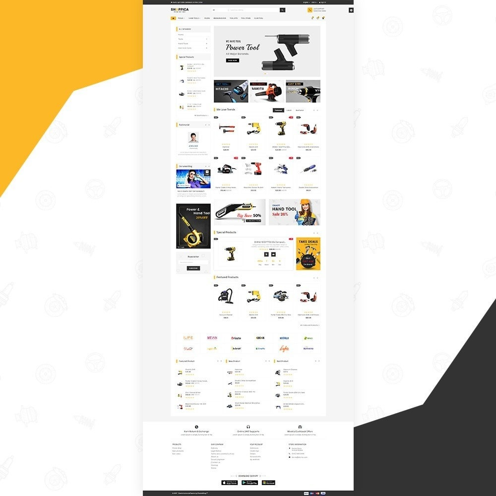 Shoppica - Tools Super Store v3