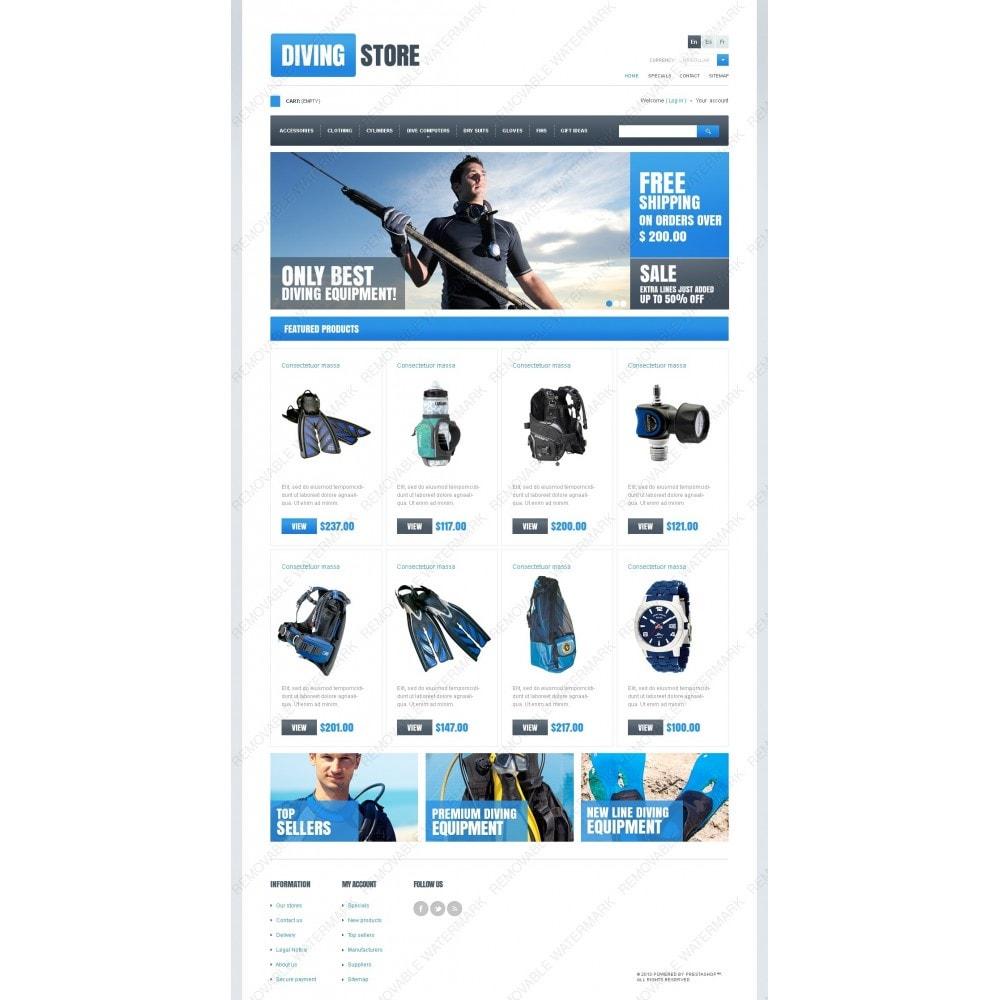 theme - Sport, Activiteiten & Reizen - Diving Store - 2