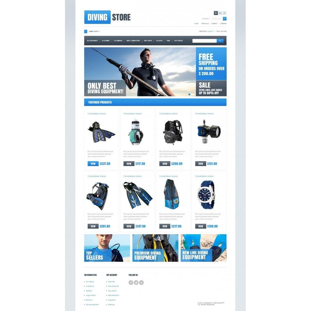 theme - Sport, Activiteiten & Reizen - Diving Store - 3