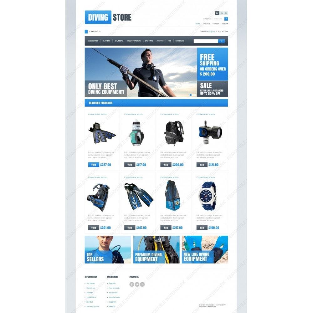 theme - Sport, Activiteiten & Reizen - Diving Store - 7