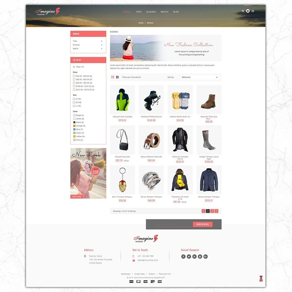 theme - Moda y Calzado - Fmagine - Fashion Store - 3