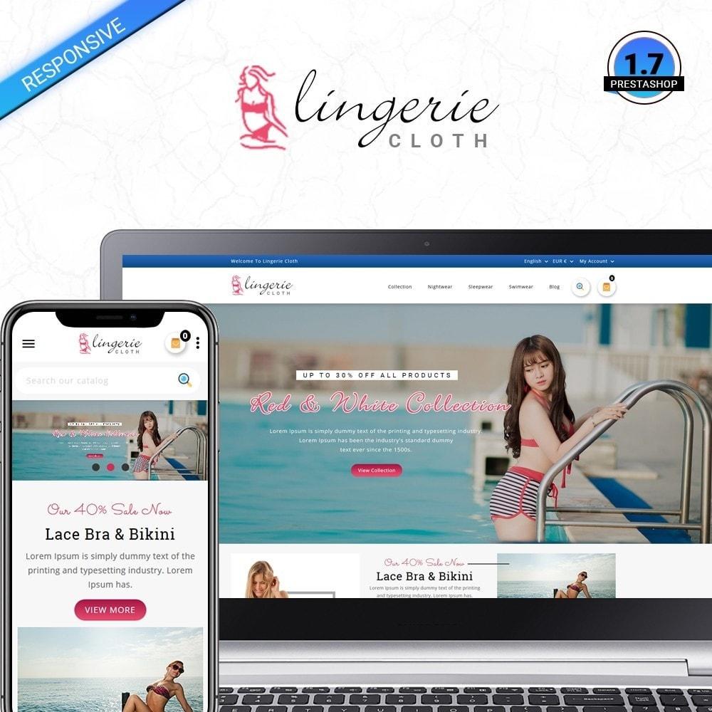 LingerieCloth - Lingerie Store