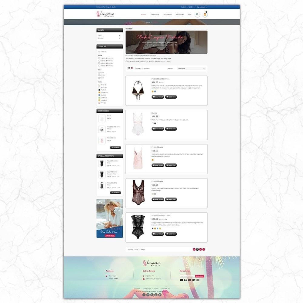theme - Нижнее белье и товары для взрослых - LingerieCloth - Lingerie Store - 4