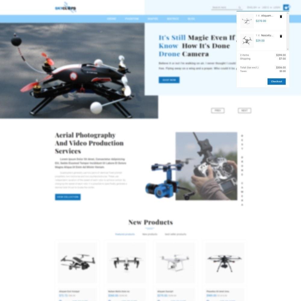 theme - Elektronika & High Tech - Skyclops Drone Store - 7