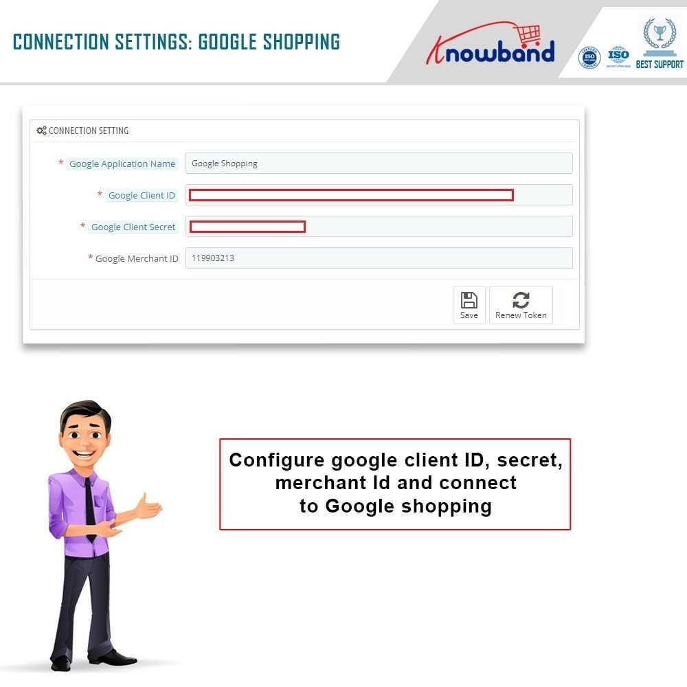 module - Comparateurs de prix - Knowband - Google Shopping (Google Merchant Center) - 1