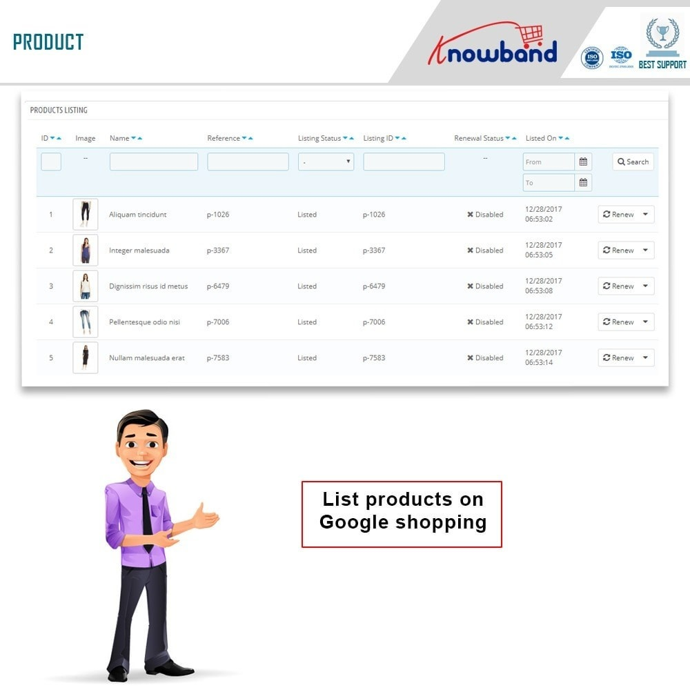 module - Price Comparison - Knowband - Google Shopping (Google Merchant Centre) - 4