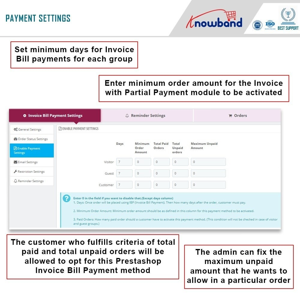 module - Paiement par Facture - Knowband - Invoice Bill Payment - 5
