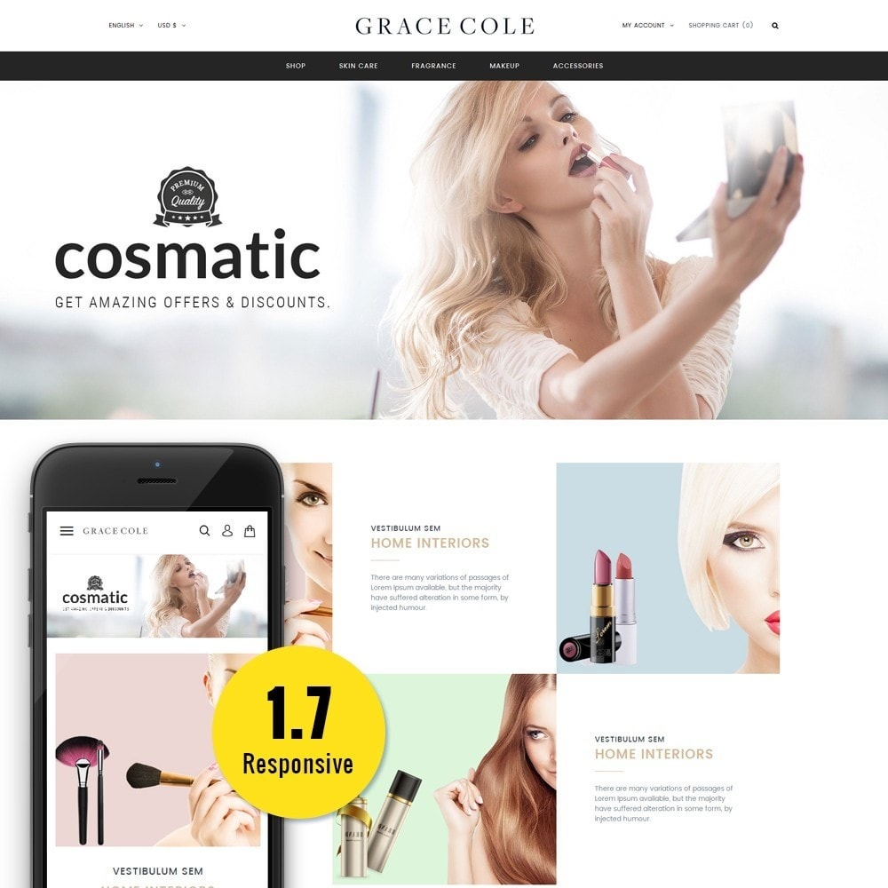 Grace Cole Cosmetic Store