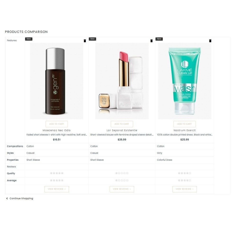 theme - Health & Beauty - Grace Cole Cosmetic Store - 9