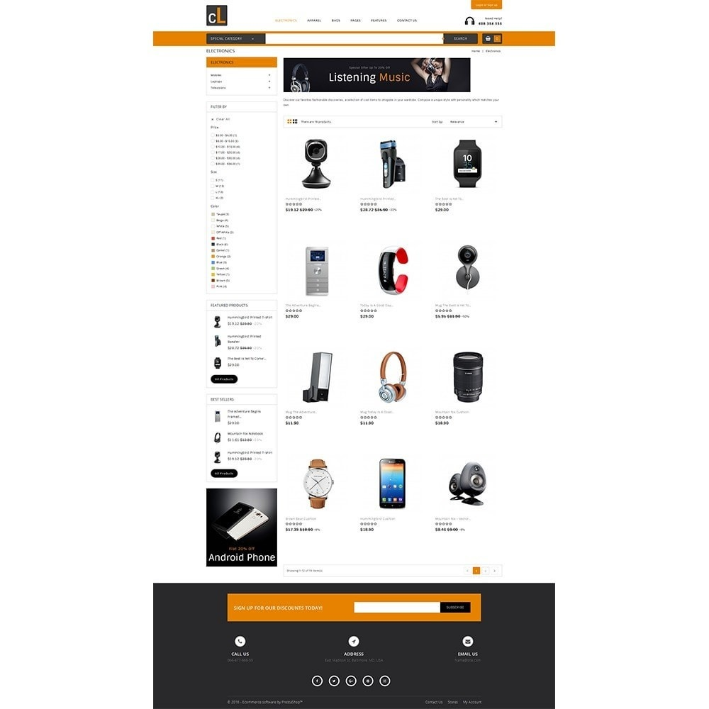 theme - Elettronica & High Tech - CL Electronic Store - 3