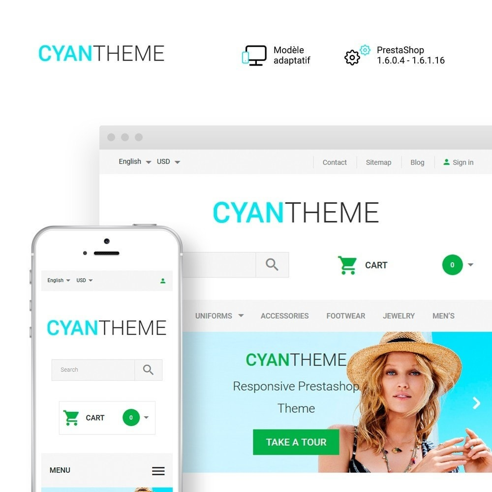 theme - Mode & Chaussures - CyanTheme - Fashion Store - 1