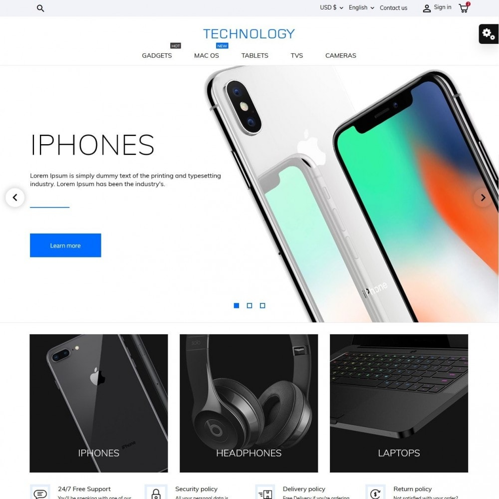 Technology - High-tech Shop