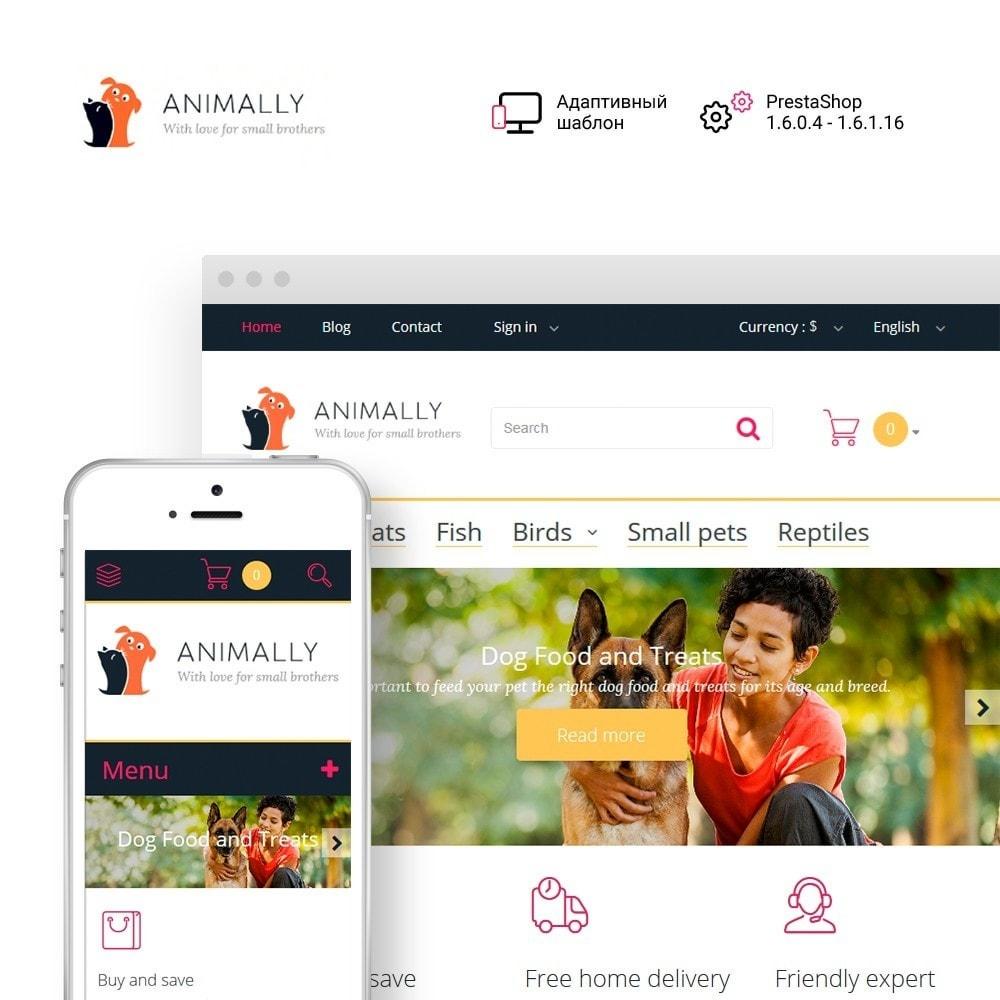 theme - Животные и домашние питомцы - Animally - Animals & Pets - 1