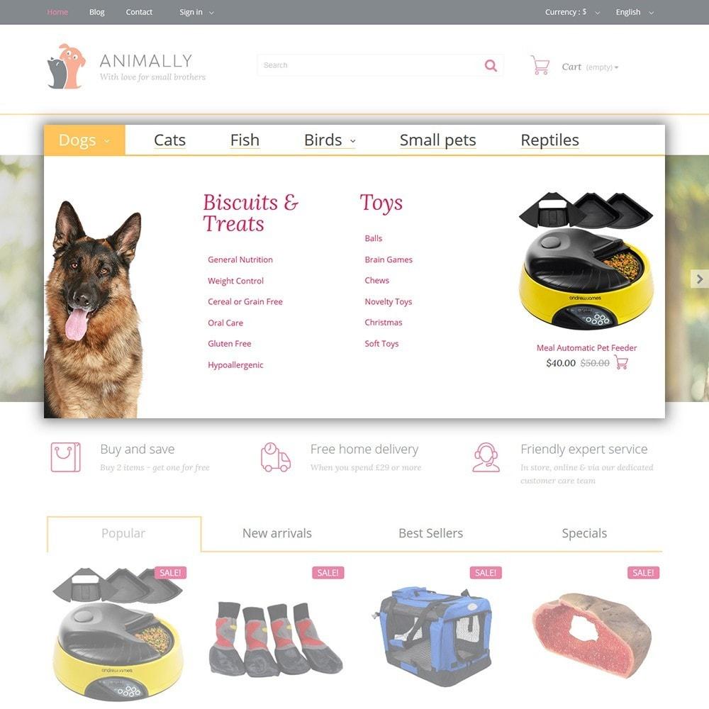 theme - Животные и домашние питомцы - Animally - Animals & Pets - 4