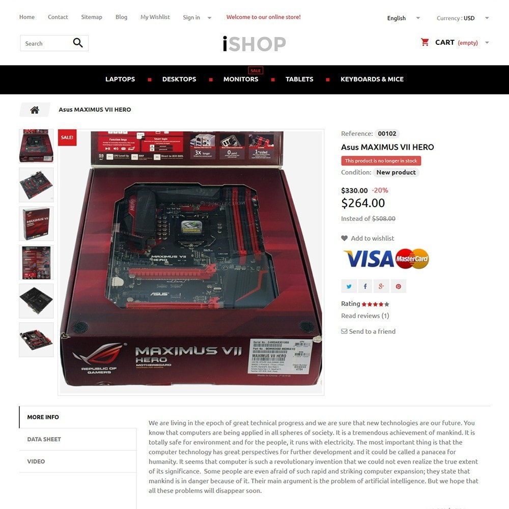 theme - Elektronica & High Tech - iShop - 3