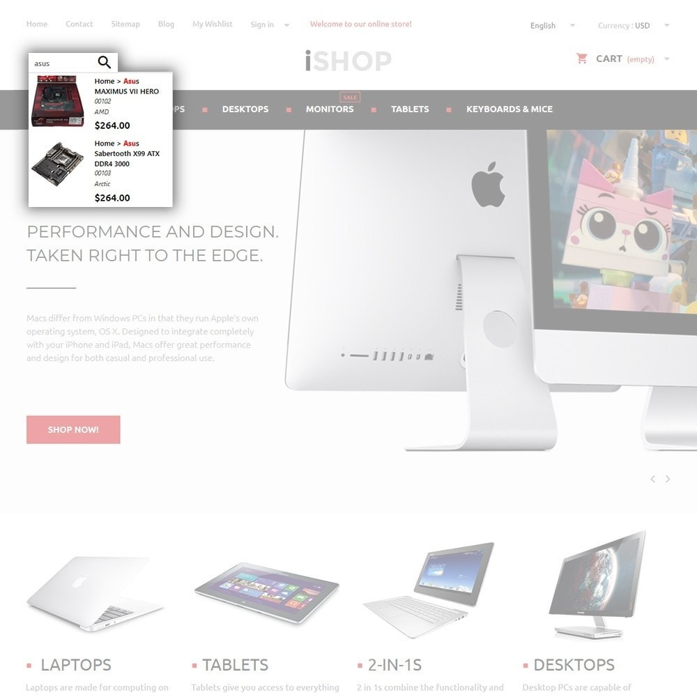 theme - Elektronica & High Tech - iShop - 6