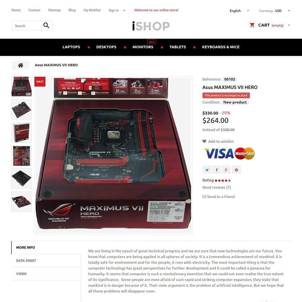 theme - Электроника и компьютеры - iShop - 3