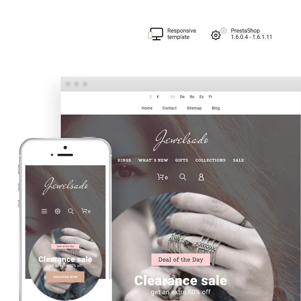 theme - Moda & Obuwie - Jewelsado - Jewelry Store - 1