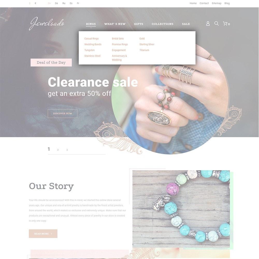 theme - Fashion & Shoes - Jewelsado - Jewelry Store - 4