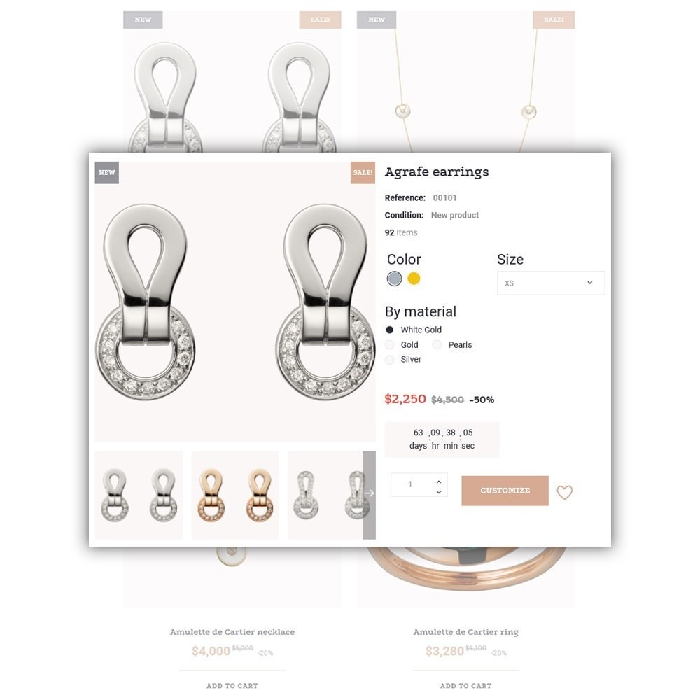 theme - Moda & Obuwie - Jewelsado - Jewelry Store - 5