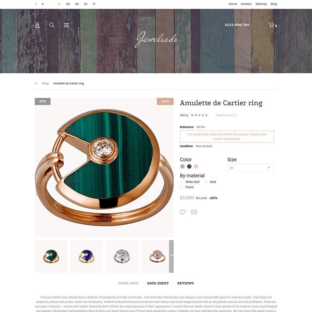 theme - Moda y Calzado - Jewelsado - Jewelry Store - 3