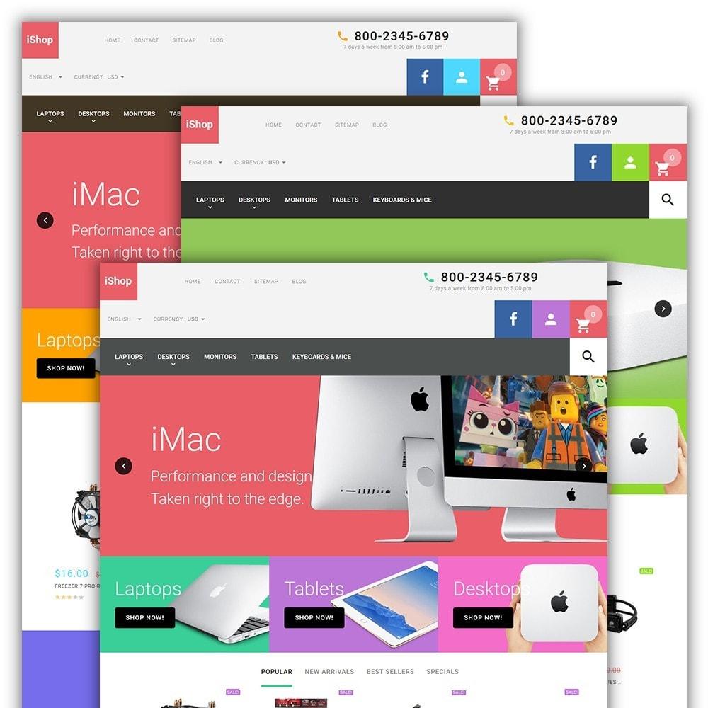 iShop - White Computer Store