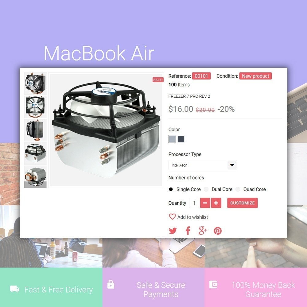 theme - Electronique & High Tech - iShop - White Computer Store - 4