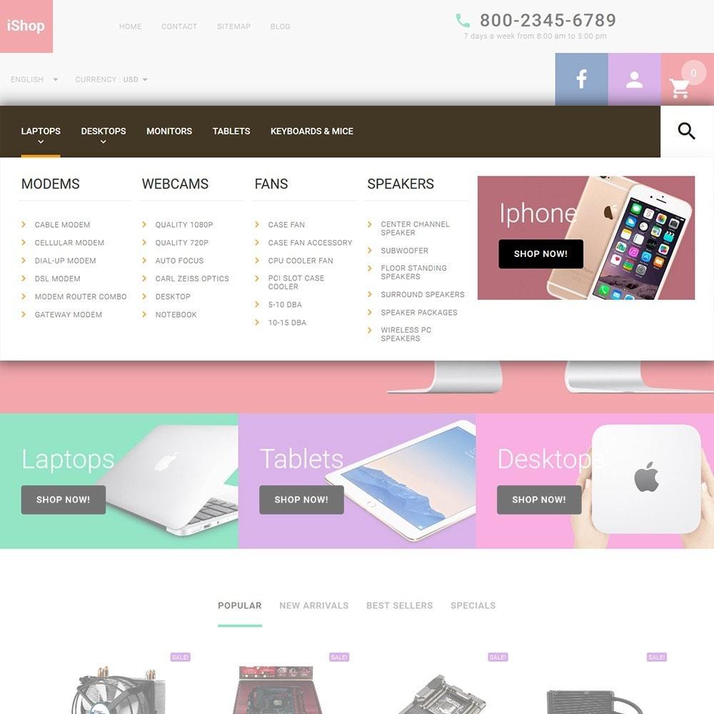 theme - Electronique & High Tech - iShop - White Computer Store - 5