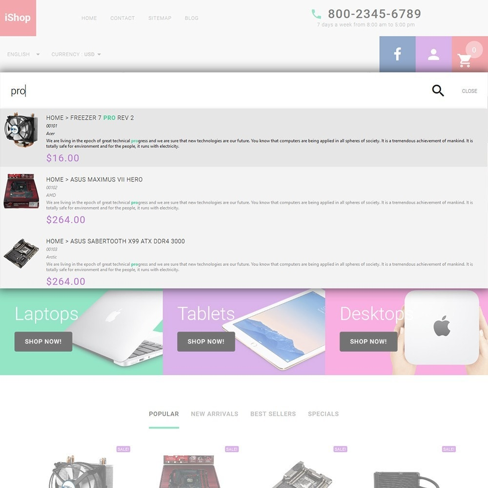 theme - Elettronica & High Tech - iShop - White Computer Store - 6