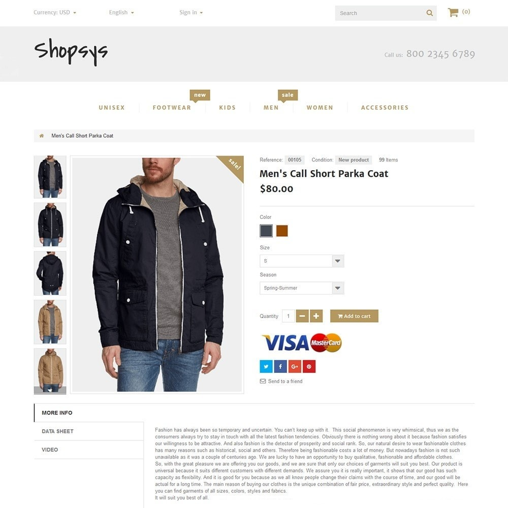theme - Mode & Chaussures - Shopsys - Trendy Clothes - 3