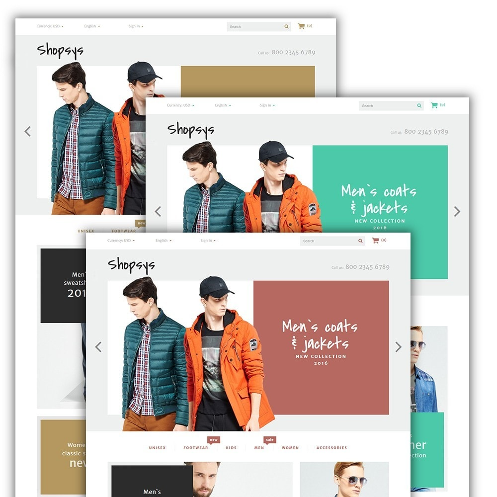 theme - Мода и обувь - Shopsys - Trendy Clothes - 2